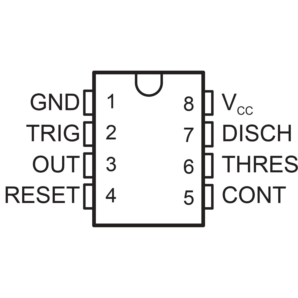 Ne555 General Purpose Single Bipolar Timer Protostack By The 555 Device Consider Monostable Circuit Below